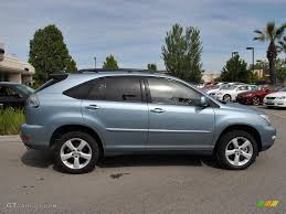 lexus rx 350 2008 2008 breakwater blue metallic lexus rx 350 awd 31851484 photo 8
