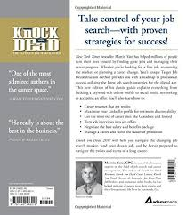 Resume For A Cleaning Job by Knock U0027em Dead 2017 The Ultimate Job Search Guide Martin Yate