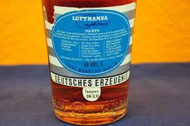 lufthansa cocktail party 0 7 liter from 1960 kusera
