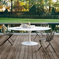 modern outdoor dining table mid century modern indoor outdoor furniture for california living