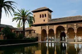 moorish architecture moorish architecture in the alhambra stock image image of