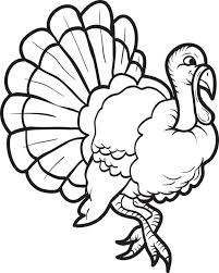 free printable turkey coloring page for kids 15
