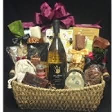 Wine Gift Basket Custom Themed Wine And Cheese Chocolate Gift Baskets Su Vino Winery