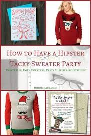 how to host a tacky sweater in philadelphia sweater