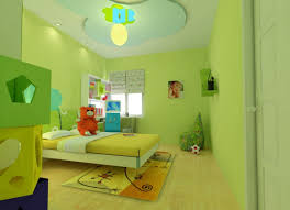 Kidsroom Cartoon Ceiling For Kids Room Green 3d House