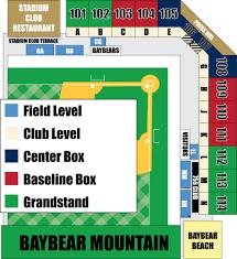 Arizona Stadium Map by Hank Aaron Stadium Mobile Baybears