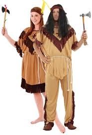 couples native american indian fancy dress costume fancy me limited