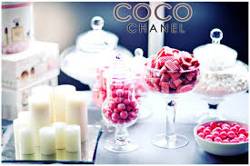 Chanel Party Decorations Coco Chanel Baby Shower Brunch Pizzazzerie