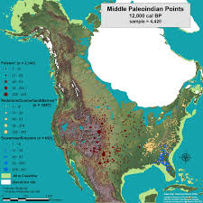 Map Of Tennesse The Paleoindian Database Of The Americas