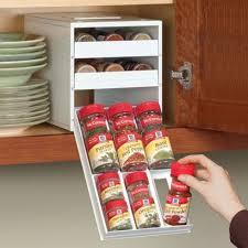 18 Jar Spice Rack Spicestack Spice Jar Drawer Unit Storables