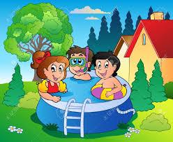 garden pool clipart clipground