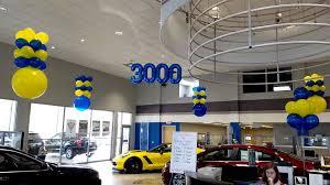 8 big car dealer event sales themes decor ideas balloons by design