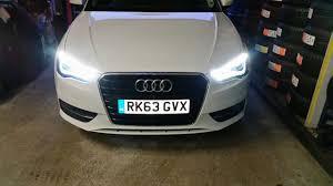 audi headlights audi a3 8v genuine bixenon headlight retrofit conversion