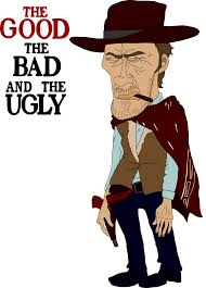 Good Bad Ugly The Good The Bad And The Ugly Blondie By Grimsrudberkowitz On