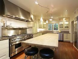 Track Lights For Kitchen Kitchen Island Track Lighting Stylish On For Ceiling And