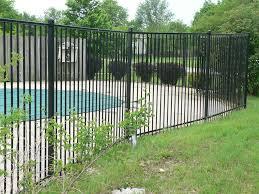 decorative rod iron fence ideas