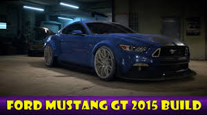 build ford mustang 2015 need for speed ford mustang gt 2015 build