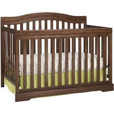 Broyhill Convertible Crib Broyhill Bowen Heights 4 In 1 Convertible Crib Walnut