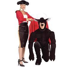 Funny Halloween Costume Women Funny Matador Bull Costumes Halloween Costumes
