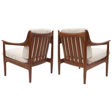 Scandinavian Leather Chairs Westnofa Furniture Lounge Chairs 35 For Sale At 1stdibs