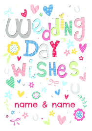 wedding wishes name pretty patterns wedding day card wedding wishes funky pigeon