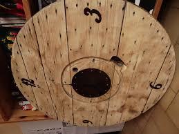 touret bois deco horloge avec un touret touthanrékup