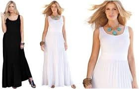 plus size white dresses trendy and relaxed design plus size white