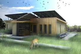 solar powered canopy house features a liquid cooled photovoltaic