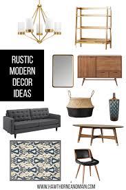 Modern Decor Ideas by Rustic Modern Decor Ideas U2013 Hawthorne And Main