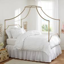 Bed Frame With Canopy Maison Canopy Bed Pbteen
