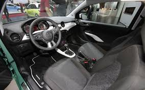 opel karl interior out of juice electric version of opel adam cancelled for cost reasons