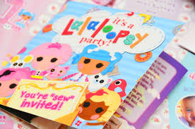 Lalaloopsy Invitation Cards 1st Birthday Archives Invitations By Dianne Tan