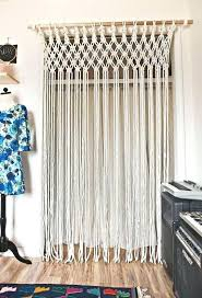 Doorway Privacy Curtains Doorway Privacy Curtains 8 Easy To Make Living Room Projects For A