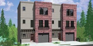 modern multi family house plans new multi family house plans
