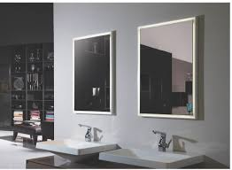 zen ii lighted vanity mirror led bathroom mirror horizontal 394