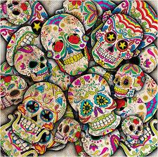 colorful bedding collage style sugar skull duvet cover u2013 sugar