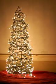 tree lighted outdoor trees outdoor led