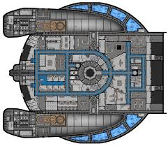 Battlestar Galactica Floor Plan Nx 01 Deck Plans Version 2 0 The Trek Bbs