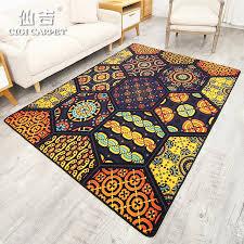 tappeto disegno cigi disegno geometrico tappeto antiscivolo pavimento plus size