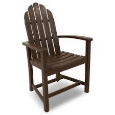 Polywood Classic Adirondack Chair Recycled Plastic U0026 Polywood Adirondack Dining Chairs Premium Poly