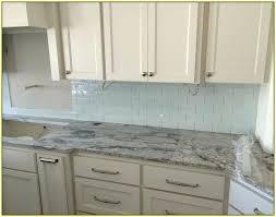 glass kitchen tile backsplash blue glass tile transitional kitchen artistic designs for living
