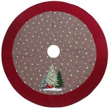 shop tree skirts at lowes