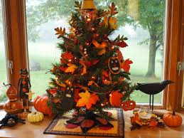 ohio thoughts fall decorated tree