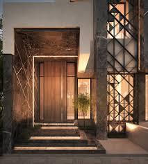 main entrance private villa kuwait 500 m sarah sadeq