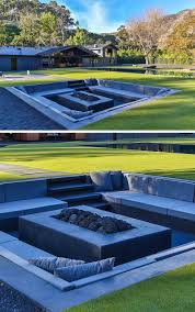 Backyard Design Idea Create A Sunken Fire Pit For Entertaining - Backyard design idea