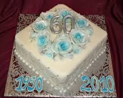 fondant birthday cakes with blue gold and silver elisabeth u0027s