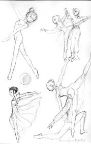 ballet sketches 1 by hbanana7 on deviantart