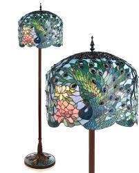 glass art in your home peacock floor lamp warisan lighting
