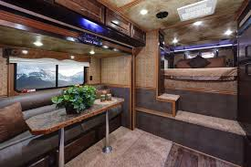 horse trailer living quarter floor plans 8ft wide living quarters trailers trails west trailers