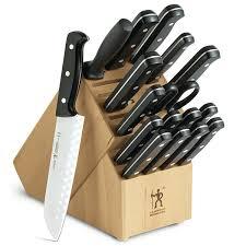 kitchen knive sets j a henckels international 18 pc edge pro knife set jcpenney